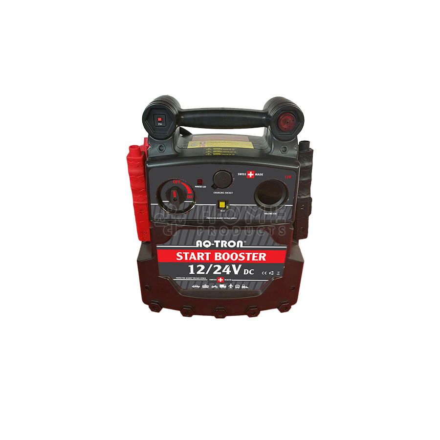 AQ-TRON Start booster incl. accu, 12/24V, 5000/2500A