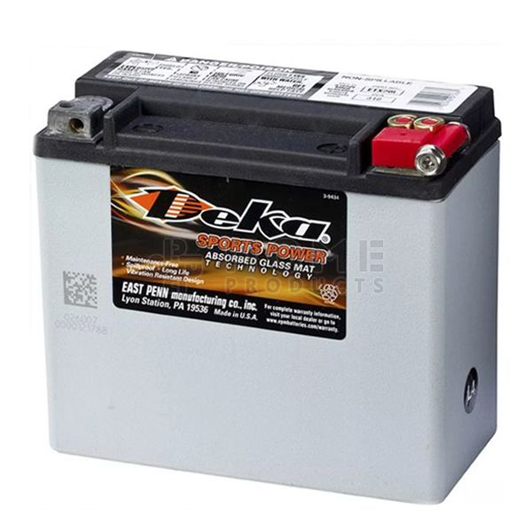 Xtreme Power accu, ETX20L, 12V, 17.5Ah, M10, 177x88x155 mm