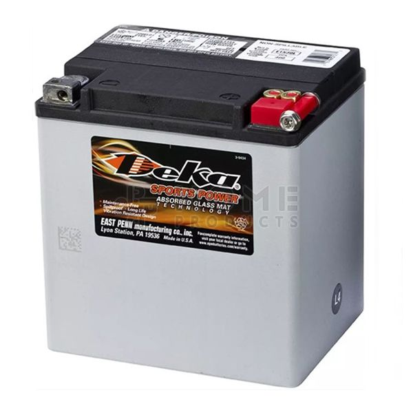 Xtreme Power accu, ETX30L, 12V, 30Ah, M10, 168x131x176 mm